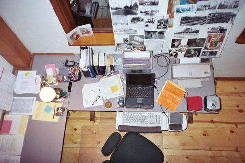 liz's writing desk